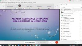 Халқаро атом энергияси агентлиги томонидан  онлайн семинар бўлиб ўтмоқда
