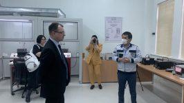 """The """"Rosstandart"""" delegation visited to the UzNIM"""
