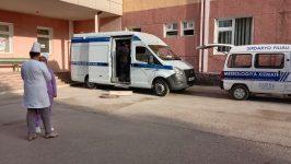 Mobil tibbiy laboratoriya Sirdaryoda