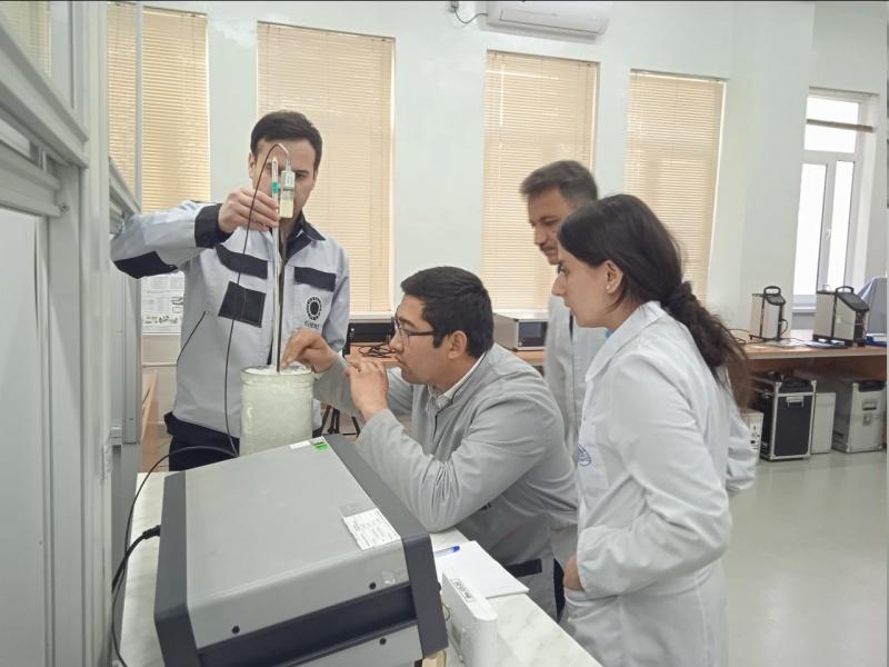 Tajik metrologists are improving qualification in Uzbekistan