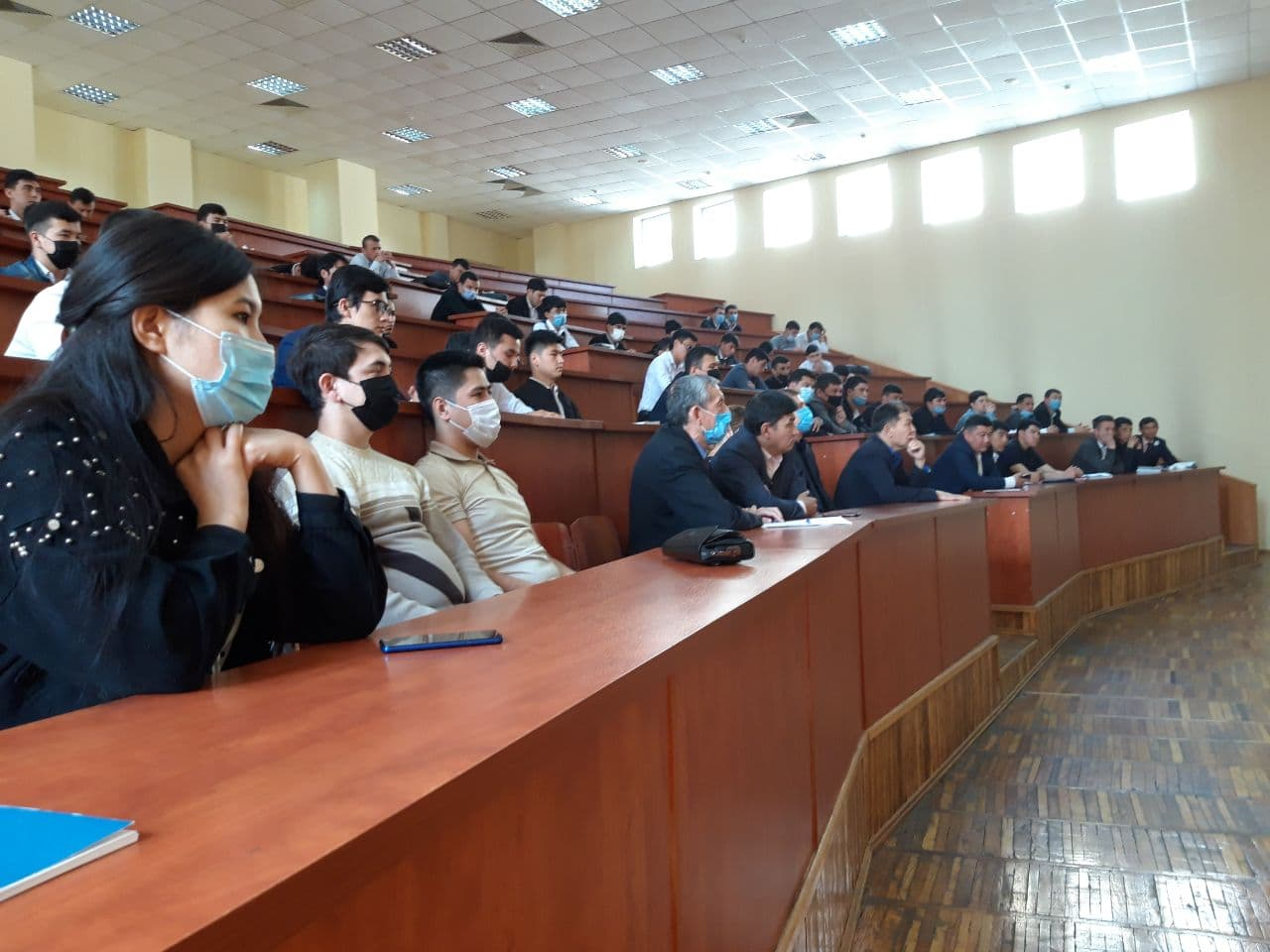 Meetings were held with the participation of students